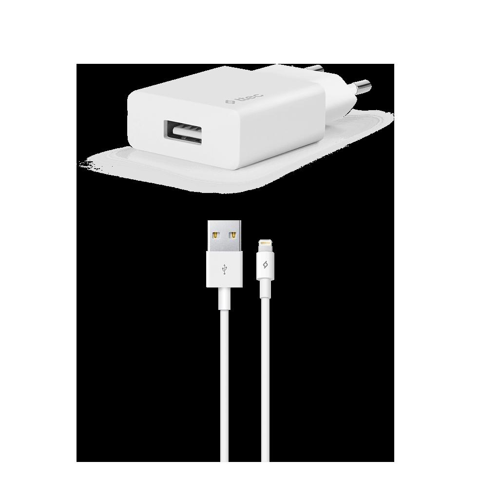 Ttec Smart charger Adaptör + İphone Data ve Şarj Kablosu