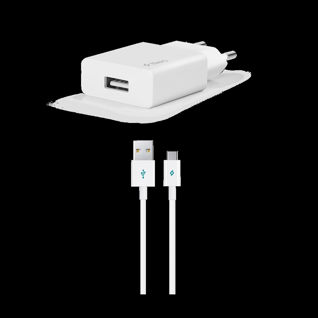 Ttec Smart charger Adaptör + Type-C Data ve Şarj Kablosu