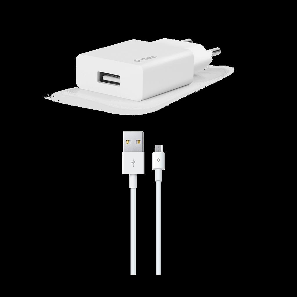 Ttec Smartcharger Adaptör + Micro Usb Data ve Şarj Kablosu