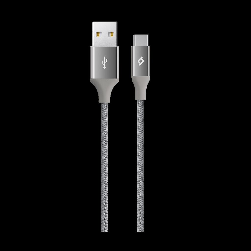 Ttec Type C AlumiCable Data ve Şarj Kablosu Uzay Gri