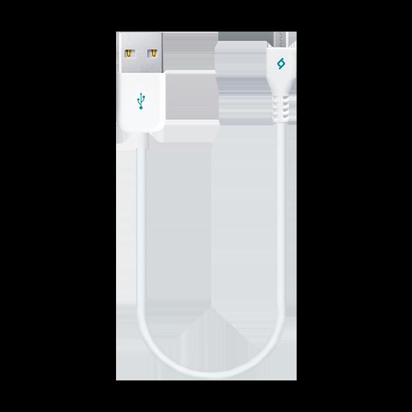 Ttec MiniCable 30cm Micro Usb Data ve Şarj Kablosu Beyaz