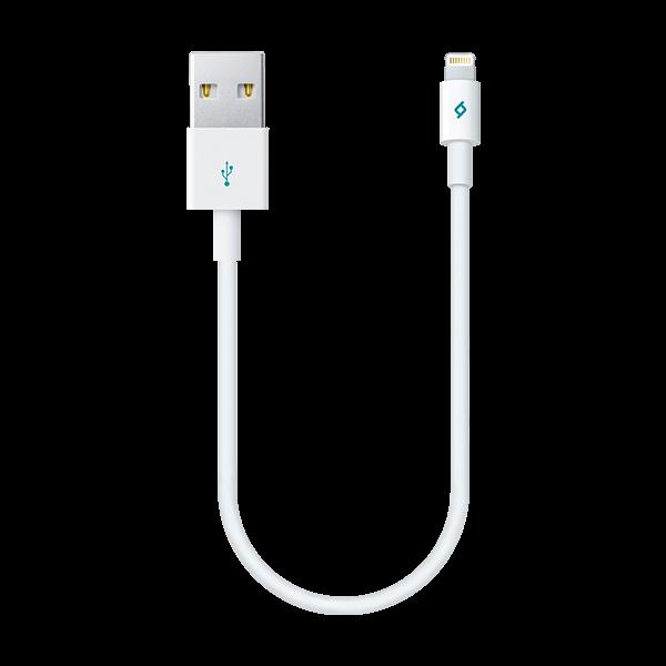 ttec MiniCable 30cm İphone Şarj Kablosu Beyaz