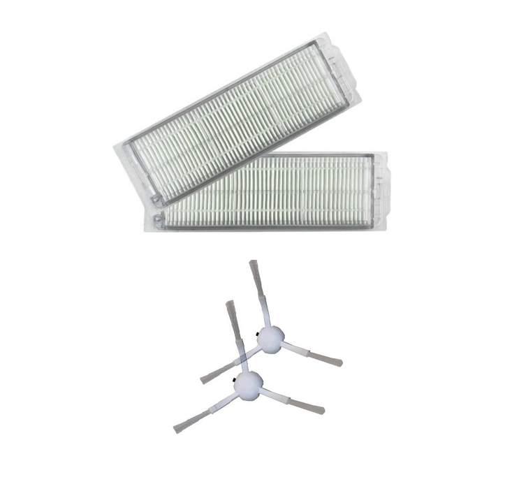 Viomi V2 PRO Set 2 adet hepa filtre 2 adet yan fırça