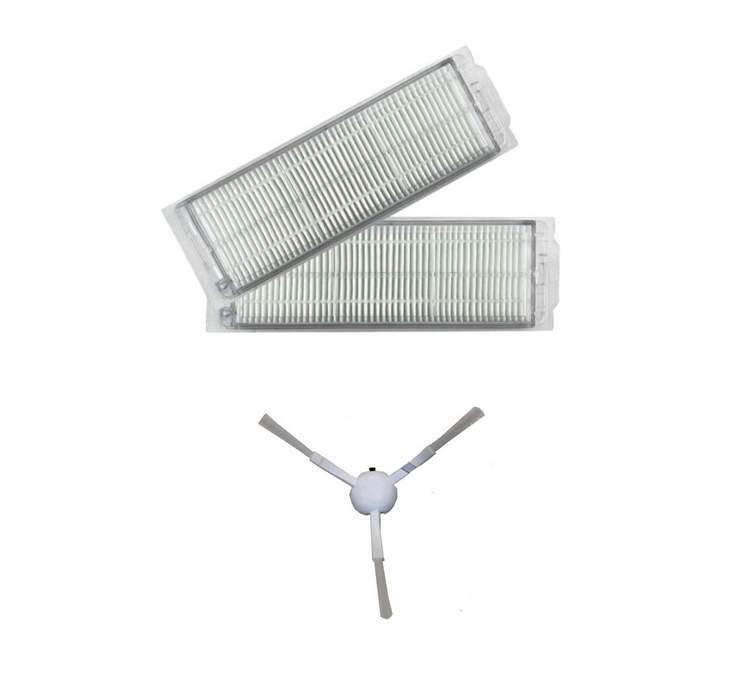Viomi V2 PRO Set 2 adet hepa filtre 1 adet yan fırça